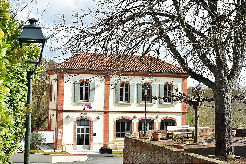 La nouvelle mairie du village
